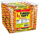 Bonomo Long Twist Turkish Taffy 0.25oz. Made in USA 192CT Tub