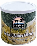 Dutch Treats Peanut Butter Pillows Made in USA - Sold in (6) 10oz Cans