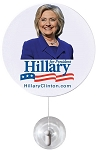 Hillary Clinton Window Waver Presidential Candidate Sign