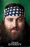 Official License Duck Dynasty Willie Poster
