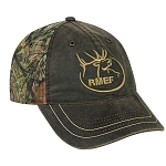 Rocky Mountain Elk Foundation Mossy Oak Break-up Country RMEF Cap