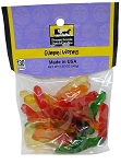 Old Fashioned GUMMI WORMS 5 oz. Hanging Bag
