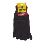 Buffalo Heavy Weight Brown Jersey Glove 1 DOZ Bundle