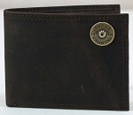 DUCKS UNLIMITED LEATHER BI-FOLD WALLET