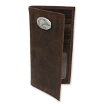 DUCKS UNLIMITED LEATHER SECRETARY WALLET