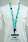 Guy Harvey GRAND SLAM SEA-FOAM GREEN LANYARD