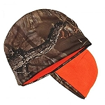 Official Licensed Muddy Water Timber Tantrum REVERSIBLE Beanie Knit Cap ORANGE/CAMO