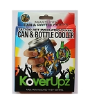 KOVERUPZ  TYVEK INSULATED CAN & BOTTLE COOLER TATTOO ART DESIGN