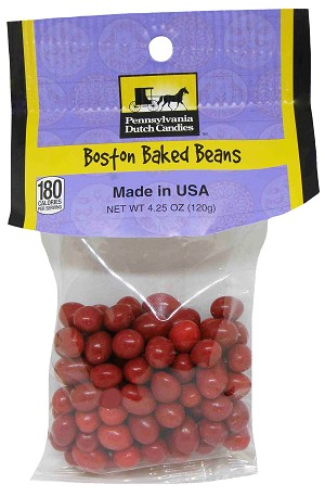 Old Fashioned BOSTON BAKED BEANS 4.25 oz. Hanging Bag